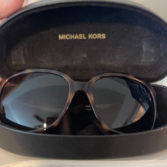 Michael Kors tortoise sunglasses